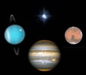 Grand cross planets