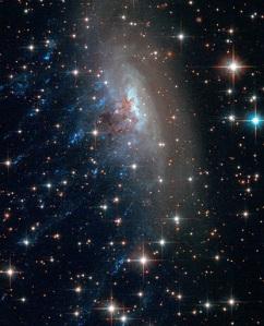 runaway galaxy